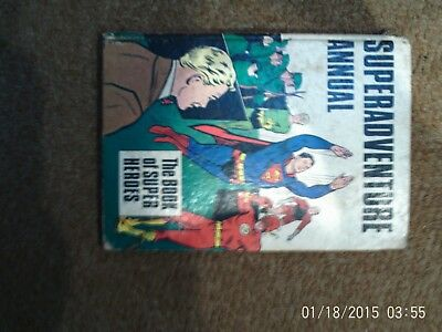 Superadventure Annual 1967 - DC Flash Green Arrow Superman - 1967