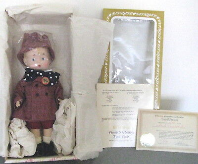 """Doll –Skippy School boy.  MIB.  1979.  14"""" tall.  Never removed from the box."""