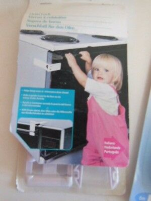 New Safety 1St Baby/child Locks- Kitchen Cupboards Lock-Microwave Or Oven Lock