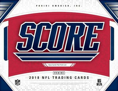2018 Score Football Cards Pick From List 1-250