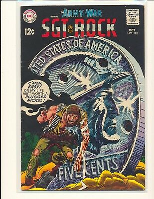 Our Army At War # 198 VG/Fine Cond.