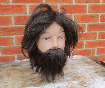 Clic International Kyle # Sc3207 Male With Beard Cosmetology Mannequin Head