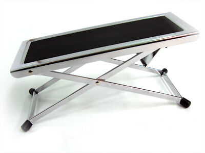 CPK GUITAR FOOTSTOOL CLASSIC 4 POSITION Chrome Finish