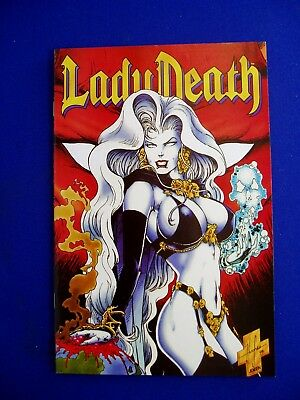 "Lady Death 2 ""Between Heaven & Hell"" #4 of 4 Pulido &  Hughes. 1st. VFN+."