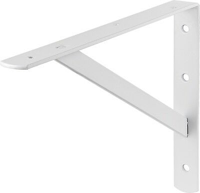 Heavy Load Console 250X400mm 250kg Buoyancy White Carrier Angle Shelf NEW