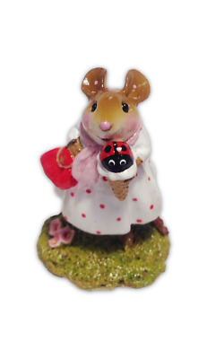 Wee Forest Folk  M-578 My Treat - Mother's Day - Ladybug