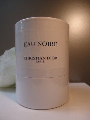 Christian Dior Eau Noir Huge 190g Scented Candle New Mint Cond Sealed Round  Box 55a6071854bff