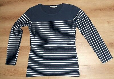 Jojo Maman Bebe -  Nursing/breast Feeding Top - Long Sleeved - Size S Small
