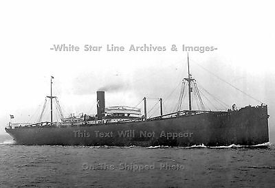 "Photo: 5"" x7"": SS Storstad - The Ship That Sunk The Empress Of Ireland, 1909"