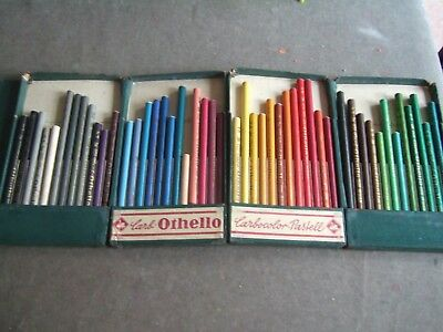 48 Swan- Stabilo Othello.pastel pencils, made in Germany. Used, still useful.