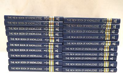 THE NEW BOOK OF KNOWLEDGE  A-Z Complete Set Of 20 Encyclopedias - S76