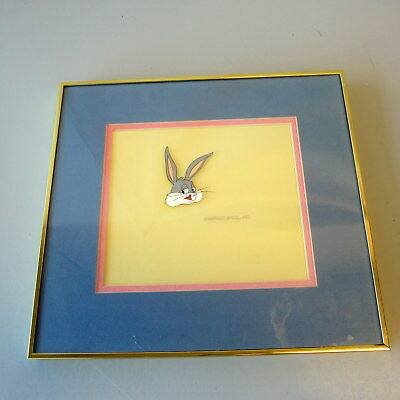 """Vintage Production Animation Cel BUGS BUNNY Head """"Carnival Of The Animals"""" 1979"""