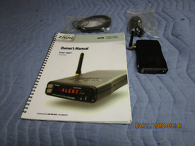 Aviation Collison Avoidance ZAON PCAS MRX used with all accessories, & manual!!