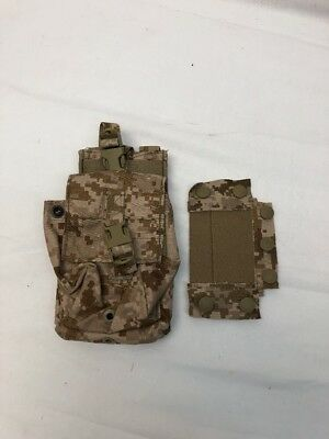 Eagle Industries AOR1 MBITR Radio Pouch w/Battery MOLLE Navy SEAL NSW