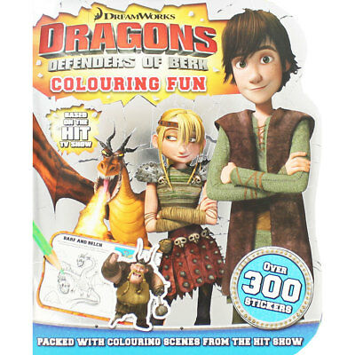 How to Train Your Dragon - Colouring Fun (Paperback), Children's Books, New