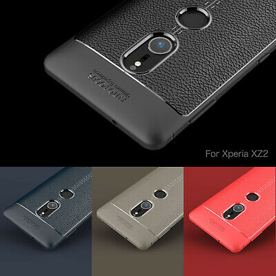 360° Shockproof Protective Soft Silicone Case PU Leather Bumper Cover For Sony