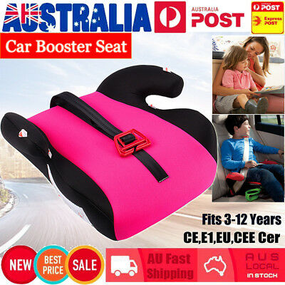 Car Booster Seat Chair Cushion Pad For Toddler Children Kids Sturdy  15-36kg
