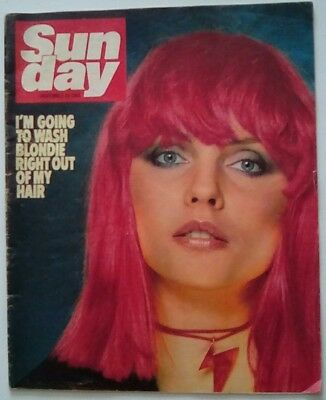 Debbie Harry News Of The World Sunday Magazine Article. 29.11.81.
