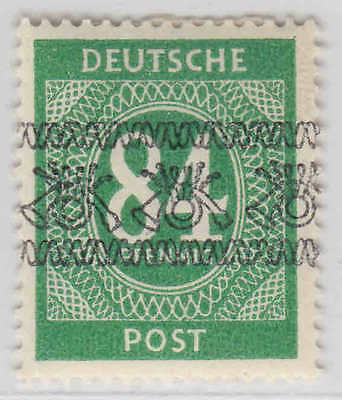 Germany 593 Inverted Overprint Og H M/m Vf Signed Becker Sound Scarce