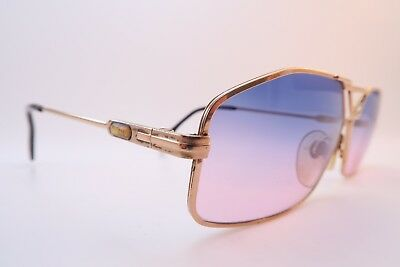Vintage 80s Cazal sunglasses made in Germany Size 57-14 gradient tinted lens
