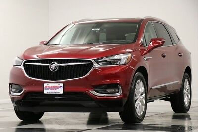 Buick Enclave MSRP$52370 AWD Essence Sunroof GPS Red Quartz New Navigation Heated Leather Seats 7 Passenger All Wheel Bluetooth 17 2017 18