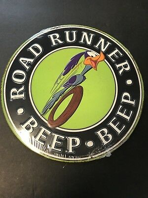 Road Runner Beep Beep Metal Sign Embossed Man Cave Sign Tin LICENSED