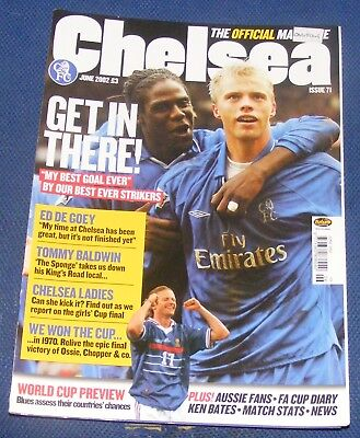 Chelsea - The Official Magazine June 2002 - Get In There!