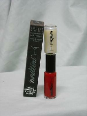 Nailtini Double Shot Double-Ended Nail Lacquer - Ruby Martini #514