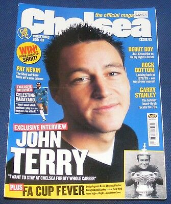 Chelsea - The Official Magazine Christmas 2001 - John Terry