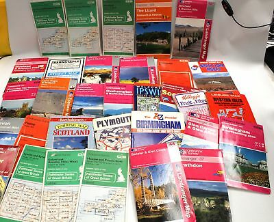 Collection of UK Ordnance Survey Maps Approx 30 Maps - B36
