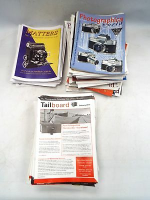 Approx 100X PHOTOGRAPHY Magazines -  Photography World,Tailboard, Matters - C23