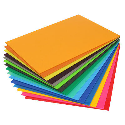 Color Acrylic Perspex Sheet Cut to Size Panel Plastic Satin Gloss A3 297x420mm