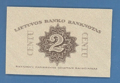 Lithuania 2 Centu 1922 Proof Rare 2897