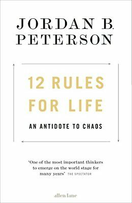 12 Rules for Life: An Antidote to Chaos,Jordan B. Peterson
