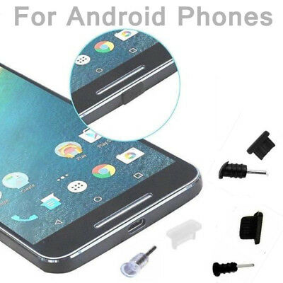 Headphone Charging Port Anti-Dust Protector Plug Cover For Samsung S5 S6 S7 Lot