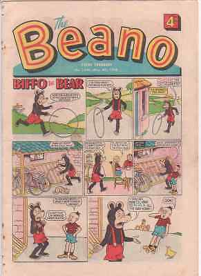 The Beano comic May 4th 1968. 50th Birthday/Anniversary gift? Good condition