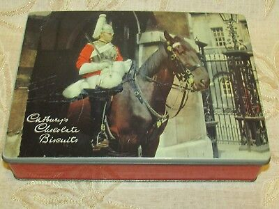 "Vintage Cadbury's Chocolate Biscuits "" Royal Horse "" Tin"