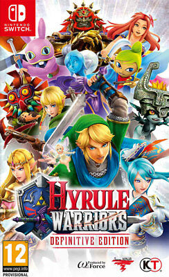 Hyrule Warriors: Definitive Edition (Switch)  NEW AND SEALED - QUICK DISPATCH