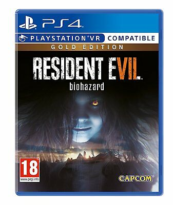 Resident Evil 7 Gold Edition PS4 PSVR - NEW FACTORY SEALED - Sony Playstation 4