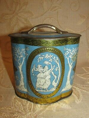 Vintage English Tea Greece Classic Tin