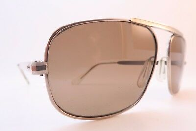 Vintage 70s sunglasses stainless steel original glass lenses made in Germany