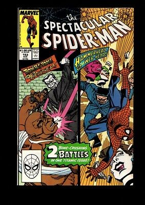 The Spectacular Spider-Man Us Marvel Vol 1 # 153/'89