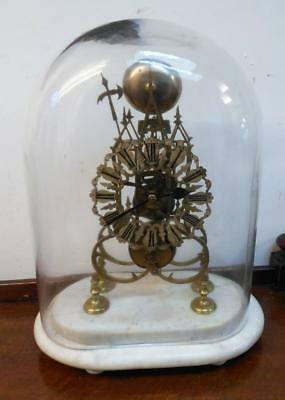 passing strike fusee skeleton clock