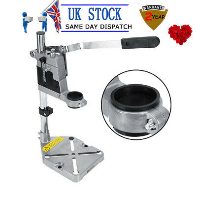 Alu Press Bench Electric Drill Stand Repair Tool Workbench Pillar Clamp Drilling