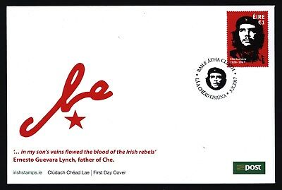 Irland Ireland 2017 - Che Guevara - Ersttagsbrief - FDC - First Day Cover - rare