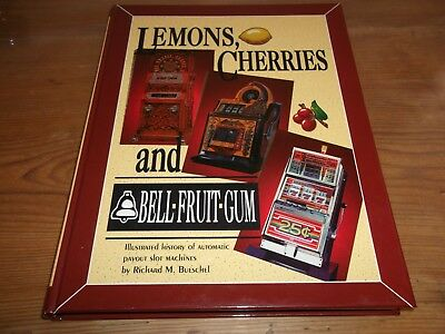 Book Lemons Cherries & Bell Fruit Gum History of Automatic Slot Machines Adverts