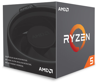 AMD Ryzen 5 2600X 3.6GHz Hexa Core AM4 CPU