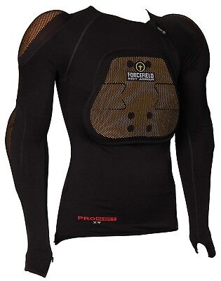 FORCEFIELD PRO SHIRT X-V 2 With L2 ELBOW CHEST SHOULDER & BACK PROTECTOR INSERTS