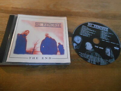CD Hiphop No Remorze - The End (16 Song) SONY EFA / MZEE RECORDS jc
