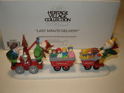 Dept 56 North Pole Accessory - Last Minute Delivery